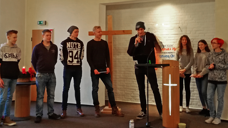 Jugendgruppe faith time